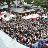 櫛田神社の節分祭(2014)の画像
