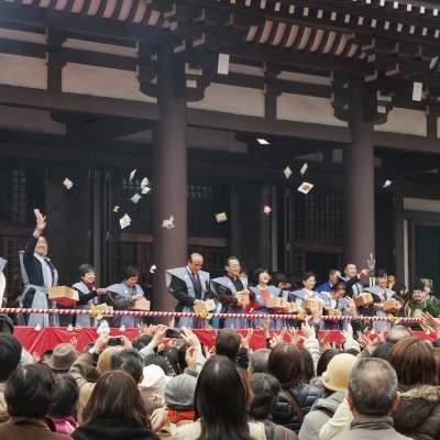 東長寺の節分祭(2014)の画像