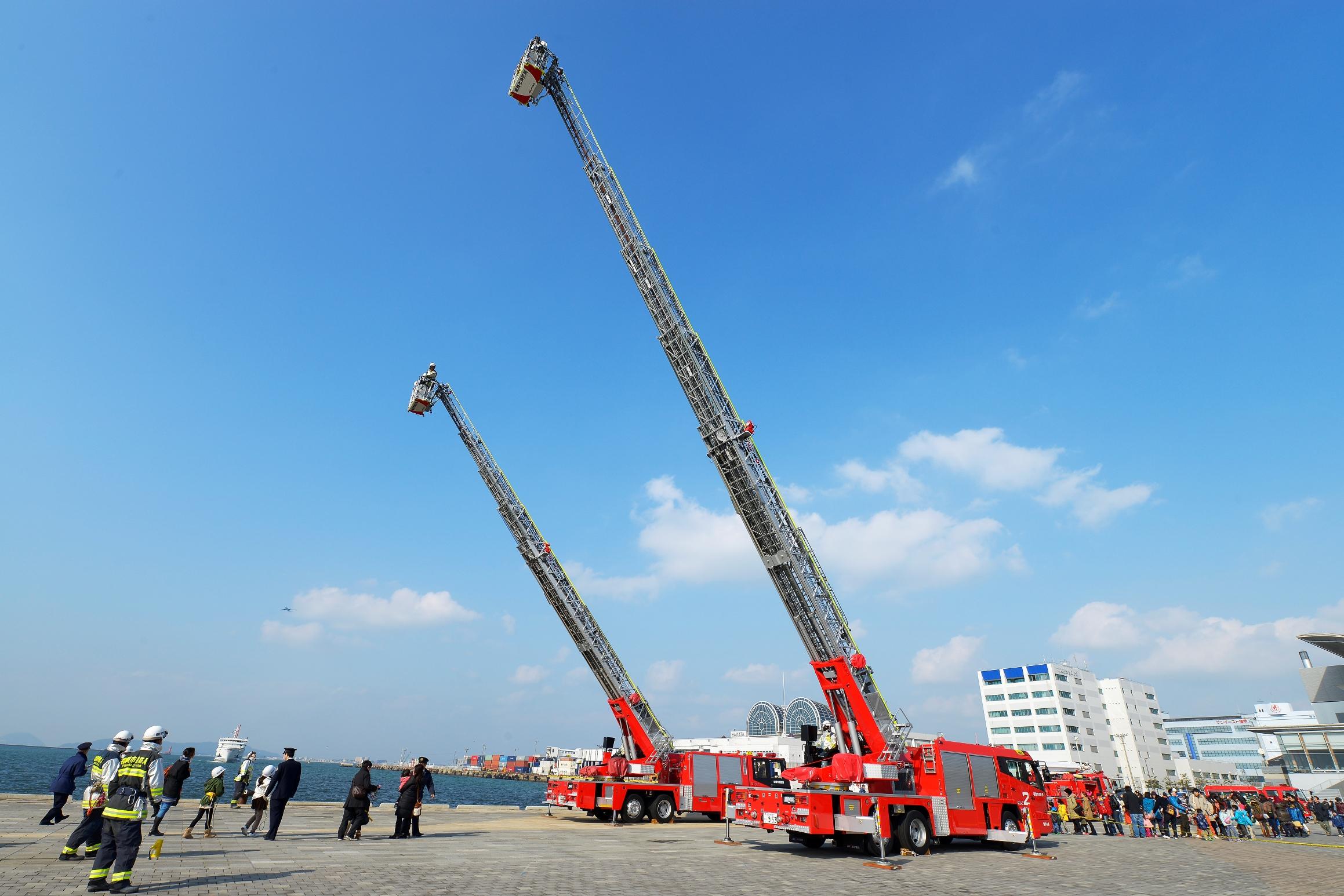 消防出初式(2014)の画像