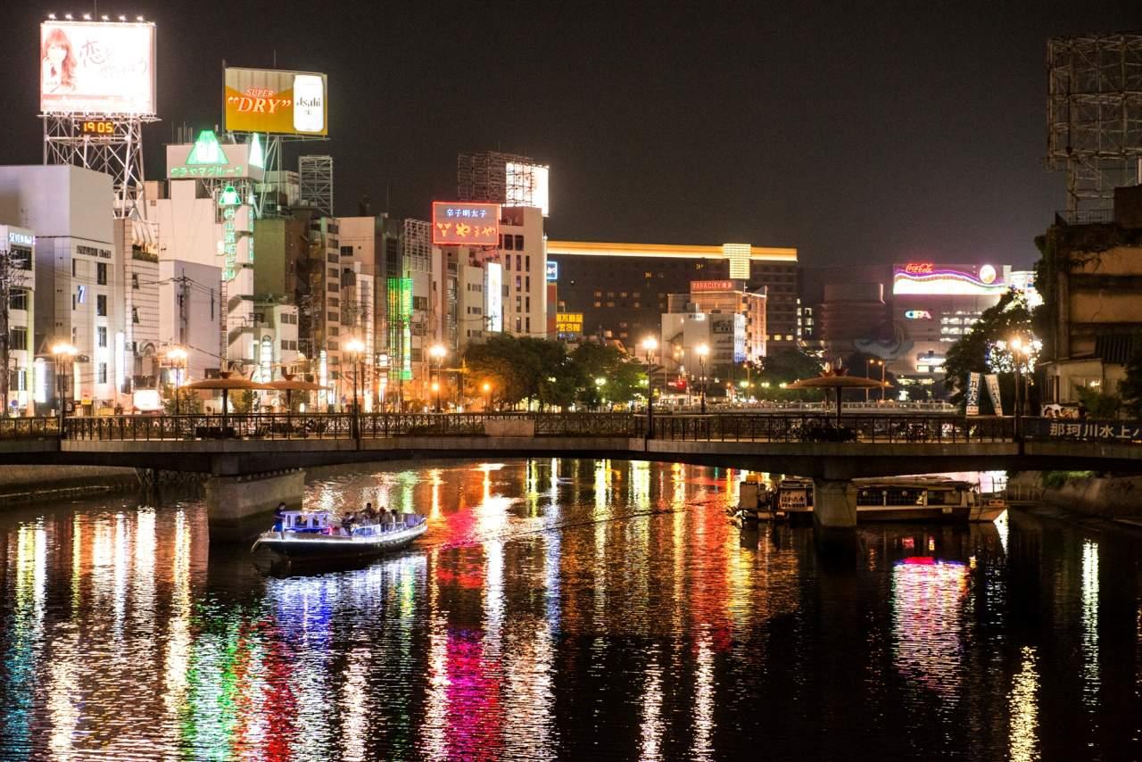 中洲・那珂川夜景(2013)の画像