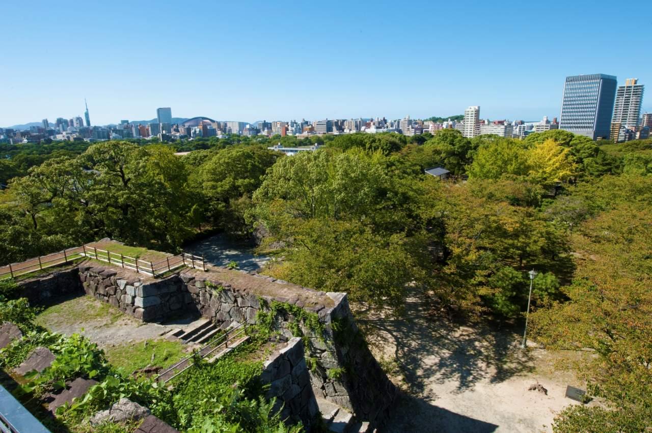 福岡城跡・天守台(2013)の画像