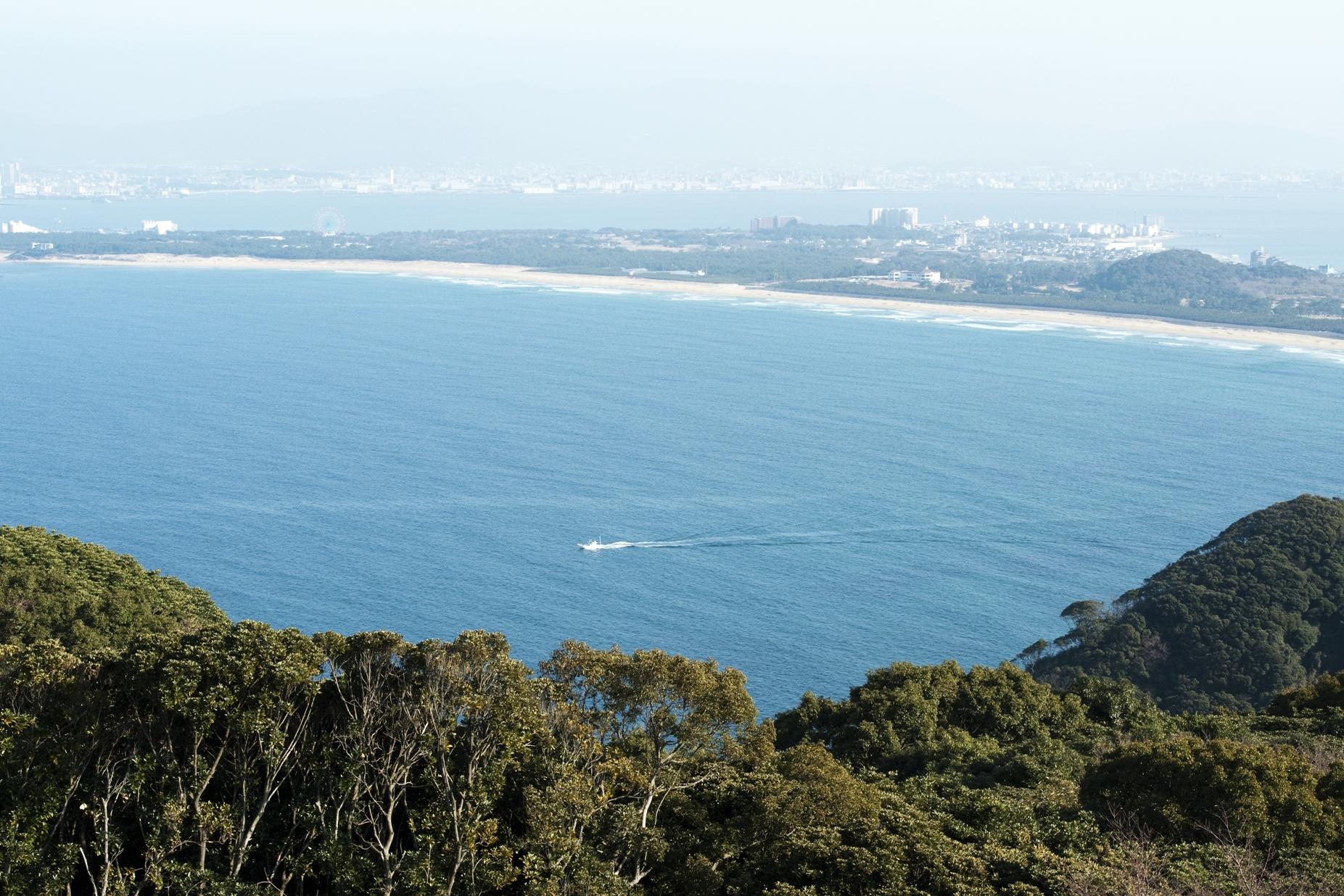 潮見公園からの風景(2014)の画像