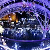 博多駅のクリスマスイルミネーション(2013)の画像