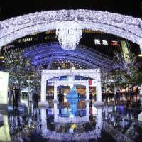 Image of Christmas Illuminations at Hakata Station(2013)