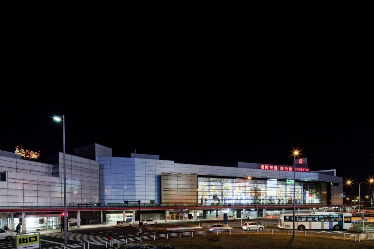 福岡空港夜景(2013)の画像