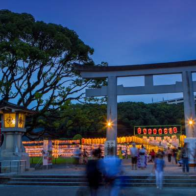 みたままつり・福岡縣護国神社(2014)の画像
