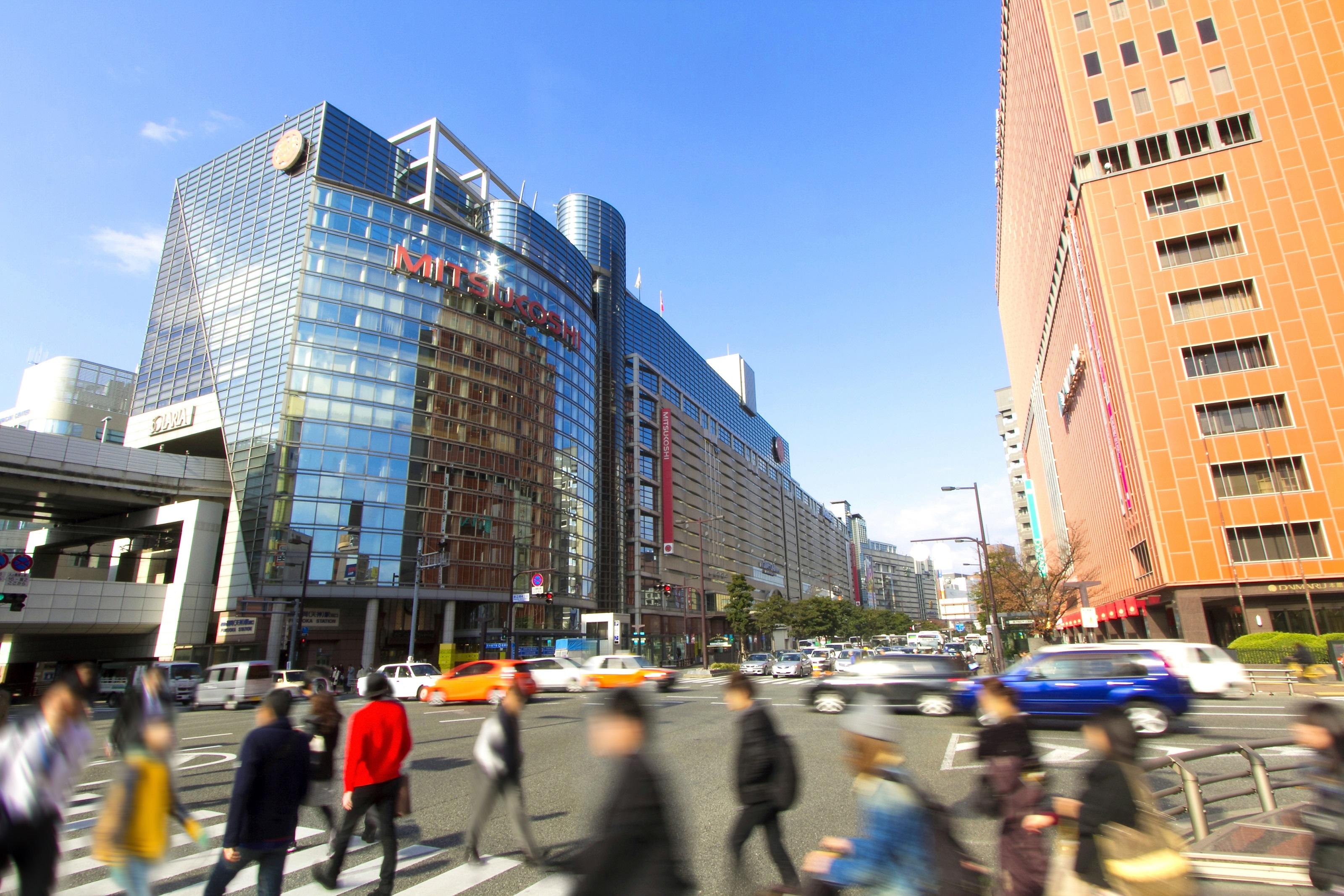 渡辺通り※南側から(2014)の画像