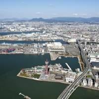 博多港上空(2015)の画像