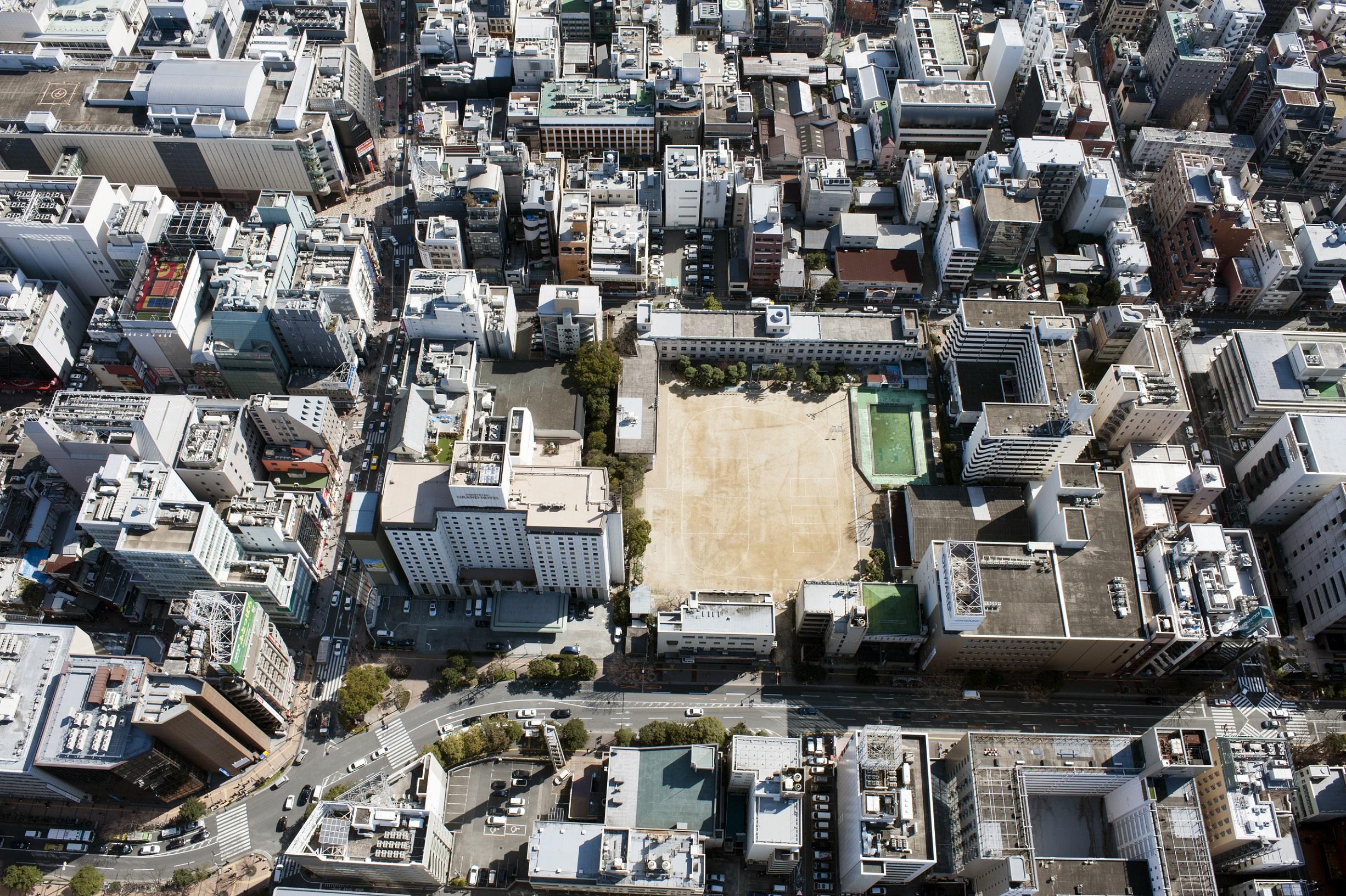 大名小学校上空(2015)の画像