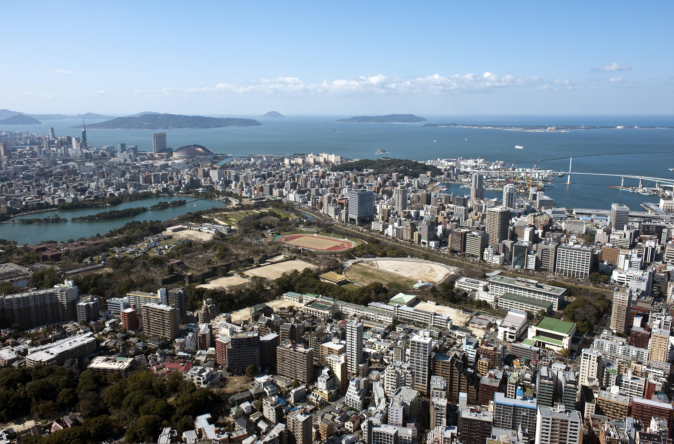 舞鶴公園から海(2015)の画像