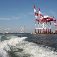 博多湾・コンテナターミナル(2014)の画像