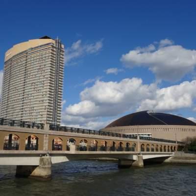 樋井川・ふれあい橋(2017)の画像