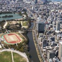 舞鶴公園から海(2019)の画像